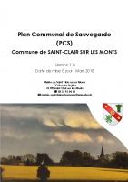 Plan communal de Saint Clair sur les Monts_compressed